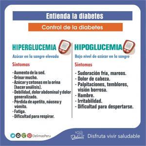 hiperglucemia diabetes diferencias