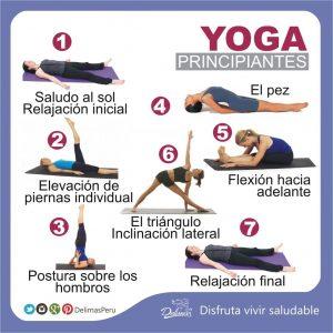 El Yoga Para Principiantes Descubre Una Fantastica Rutina De Ejercicios Alimentacion Saludable Delimas