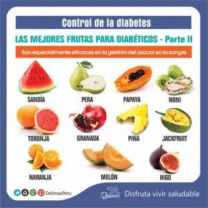 frutas recomendadas para diabeticos